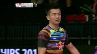 【동영상】정 시웨이・첸 친첸 VS 프라빈 조던・데비 수산토 총 BWF 세계 선수권 대회 2017 준준결승