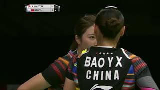 【동영상】마츠모토 미사키・다카하시 아야카 VS BAO Yixin・YU Xiaohan 총 BWF 세계 선수권 대회 2017 준준결승