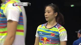 【동영상】루 카이・후앙 야치옹 VS 최솔규・CHAE YuJung 총 BWF 세계 선수권 대회 2017 베스트 16