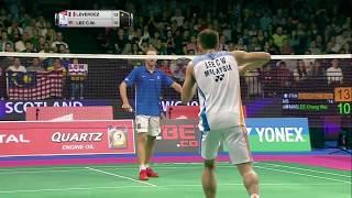 【동영상】브라이스 르베르데즈 VS 리총웨이 총 BWF 세계 선수권 대회 2017 베스트 64