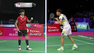 【동영상】첸 유페이 VS 파이유포 총 BWF 세계 선수권 대회 2017 베스트 32