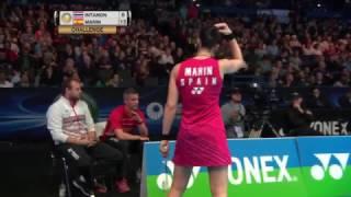 【동영상】라챠녹 인타논 VS 카롤리나 마린 YONEX 전 잉글랜드 오픈 준준결승