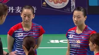 【동영상】이소희・신승찬 VS 시호 타나카・코하루 요네모토 DANISA 덴마크 오픈 결승