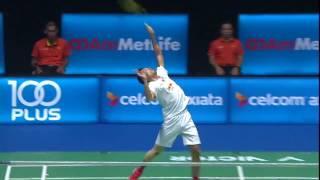 【동영상】리총웨이 VS 린 단 CELCOM AXIATA 말레이시아 오픈 결승