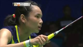 【동영상】타이추잉 VS 카롤리나 마린 CELCOM AXIATA 말레이시아 오픈 결승