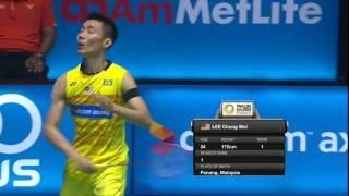【동영상】리총웨이 VS 웡윙키 CELCOM AXIATA 말레이시아 오픈 준결승