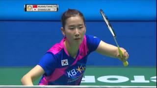【동영상】후앙 야치옹/TANG Jinhua VS 장예나/이소희 CELCOM AXIATA 말레이시아 오픈 준결승