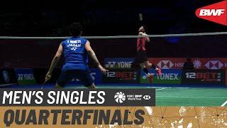【동영상】켄토 모모타 VS 리·지·지아 YONEX 올 잉글랜드 오픈 배드민턴 챔피언십 2021 준준결승