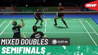 【동영상】Niclas NOHR/Amalie MAGELUND VS Ruben JILLE/Imke VAN DER AAR 스페인 마스터스 2021  준결승