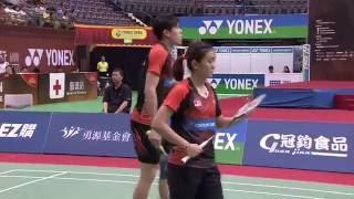 【동영상】・첸 친첸 VS 탄 키안 멩・라이 페이 징 YONEX 오픈 타이완 타이페이 결승
