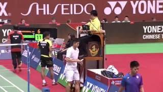 【동영상】이스칸다 즈카네인 자이누딩 VS 초우티엔첸 YONEX 오픈 타이완 타이페이 준결승