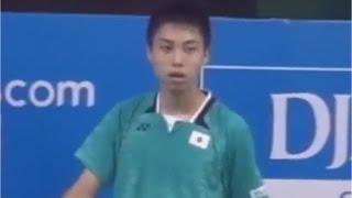 【동영상】Kodai NARAOKA VS Kunlavut VITIDSARN Blibli.com 배드민턴 아시아 U17 & U15 주니어 챔피언십 2015 그렇지